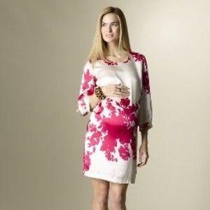 HP! ROSIE POPE Hamptons Silk Maternity Dress